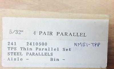532 Steel Thin Parallel Set 4 Pair Nn0372