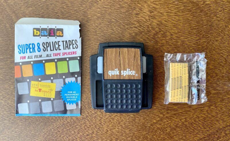 Dual 8 Quik Splice Film Splicer