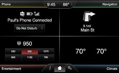 Oem-factory Nav (Ford Navigation Upgrade Kit - Plug n' Play OEM Factory NAV Upgrade SYNC 2 MFT )