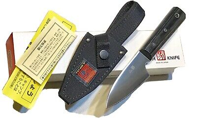 Vintage 1980' Al Mar Grand Campers Warriors Dagger Knife Box Papers Mint
