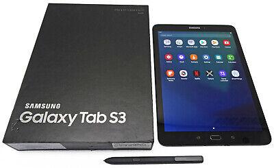 "Samsung Galaxy Tab S3 9.7"" 32GB WiFi Black SM-T820 w-S-Pen Stylus"