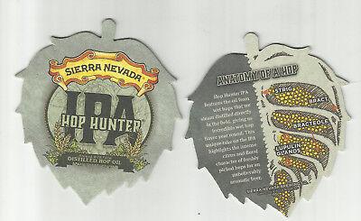 Lot of 5 Sierra Nevada IPA Coasters By Sierra Nevada Of Chico, CA #0372 Hop Hunt