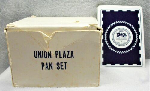 Vintage Union Plaza Hotel Casino Vegas deck of playing cards PAN SET VERY RARE