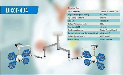 Led Surgical Light Ceiling Mobile Wall Mounted No Of Led 48 48