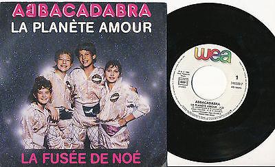 ABBACADABRA 45 TOURS FRANCE LA PLANETE AMOUR (COVER ABBA)