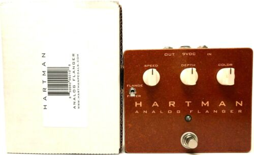 used Hartman Analog Flanger, Very Good Condition with Box