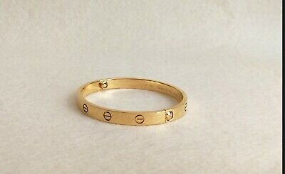 Almost perfect Replica Cartier Love bracelet (size 20) with screwdriver (gold)