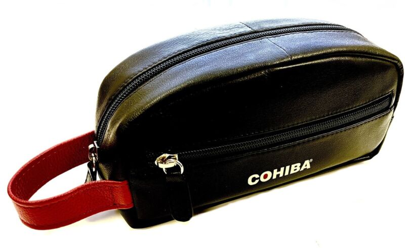 Cohiba Leather Travel Humidor Case - Official Product