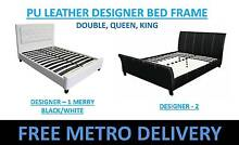 FREE DELIVERY Designer PU Leather Double/Queen/King Bed Brisbane City Brisbane North West Preview