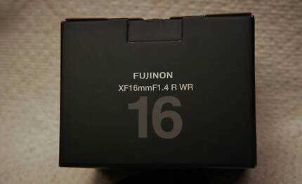 fujifilm lens XF16mm f 1.4 R WR brand new in box Punchbowl 2196 Canterbury Area Preview