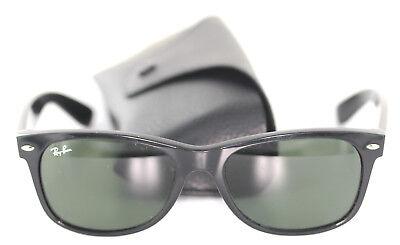 Ray-Ban RB2132 NEW WAYFARER 901L Sonnenbrille Brille Schwarz sunglasses RB 2132