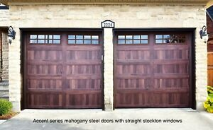 ACCENT SERIES CARRIAGE GARAGE DOORS ...... $1500 INSTALLED