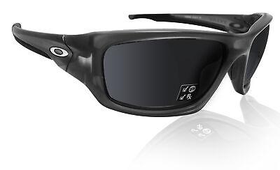 Oakley Valve Matte Grey smoke black iridium polarized lens OO9236-0260