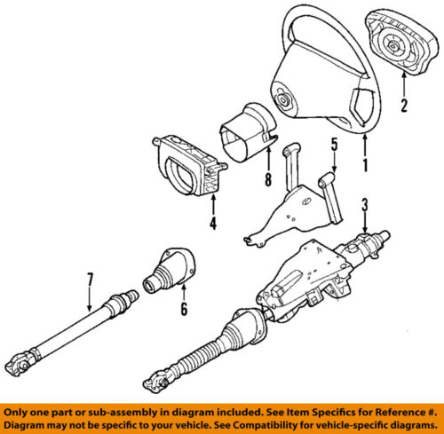 MERCEDES OEM 03-11 G55 AMG Steering Column-Lower Boot 4634620096