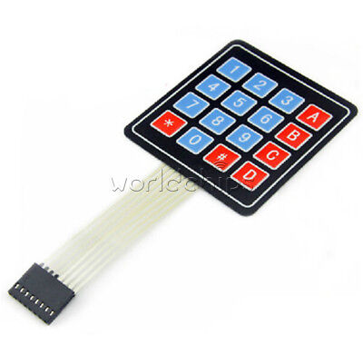4x4 Matrix Array 16 Key Membrane Switch Keypad Keyboard For Arduino Pic Avr