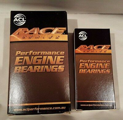 ACL Race Main & Rod Bearings Mitsubishi GALANT ECLIPSE 4G63 4G63T 6-Bolt 89-92 (92 Eclipse 6 Bolt)