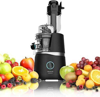 Cecotec Licuadora Juice&Live 3000 EasyClean Motor de 150W Canal XL Fruta Verdura