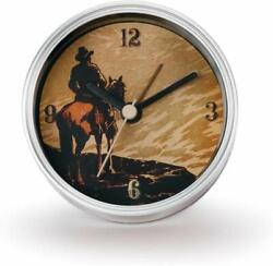 DEMDACO Big Sky Carvers Cowboy Clock-n-Can