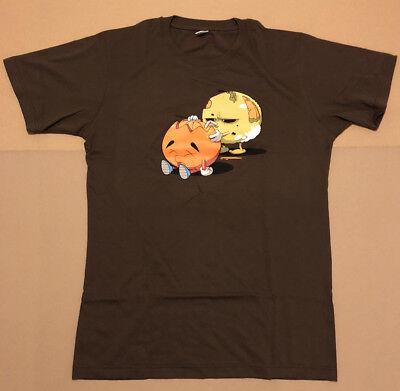 Edition Limitée T-shirt laFraise Taille L Neuf Sérigraphie Zombie Marron Humour