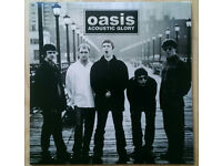 A rather nice selection of brand new Oasis Records