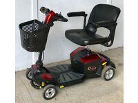 Pride Apex Rapid - full suspension Travel mobility scooter