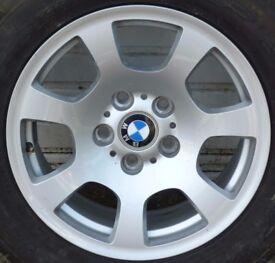 "BMW WHEEL RIM 16"" - AS NEW ! -- NO TYRE"