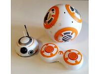 Star Wars The Force Awakens Remote Control RC BB-8 - excellent condition, hardly used