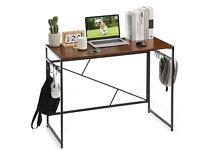 Simple Desk - Foldable PC, Breakfast, Office, Home100x50x75cm