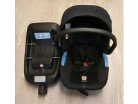 Simplicity silver cross car seat and base excellent condition essex