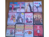 *REDUCED* 12 Assorted DVDs Romcom, Thriller, Carry On