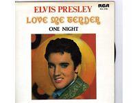 """ELVIS PRESLEY 7"""" SINGLE COLLECTOR SERIES"""