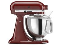 KitchenAid Stand Mixer Cinnemon Red .