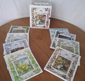 Boxed Set of 8 Brambly Hedge Books by Jill Barklem