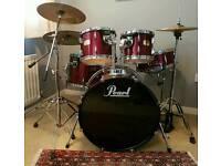 Pearl Export Series 5 Piece Drum Kit