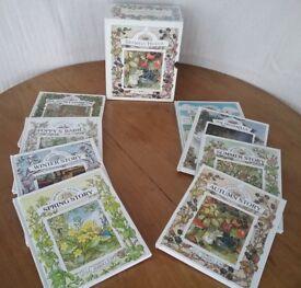 Boxed Set of 8 Brambly Hedge Books by Jill Barklem
