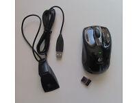 Logitech V450 Nano cordless laser mouse for notebook or desktop