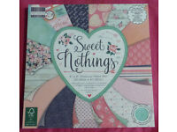 """Sweet Nothings Paper Pad – 48 Sheets, Size: 8"""" x 8"""" (Cardmaking & Papercraft)"""