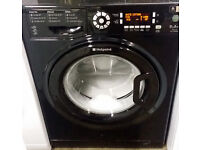Black, A++ Rated, 9kg load, 1600rpm HOTPOINT Ultima WMUD942--Super Silent