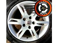 "16"" Genuine alloys Seat VW Caddy Golf excel cond excel tyres."