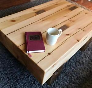 Rustic Handmade Barn Beam Coffee Table