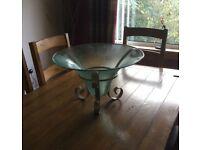 Glass decorative bowl ,