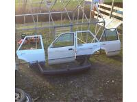 Ford escort mk4 doors and bumper orion