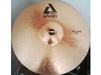 "Paiste 20"" full ride cymbal"
