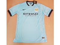 Man city 14-15 home shirt S,M,L,XL