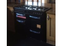 Brand New Bush BCL100DFB Dual Fuel Range Cooker