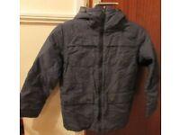 Next Boys Coat, Age 10, Very Good Condition