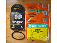 NEW & un-used Dyson DC01 vacuum cleaner spares. £6 ovno the lot. Also available separately