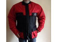 Padded Waterproof Motorbike Jacket
