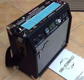 """Fender Guitar Practice Modelling Amplifier,G-Dec """"Band in a box""""15w."""