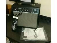 Brand Newfender Frontman Guitar 15watt Amp